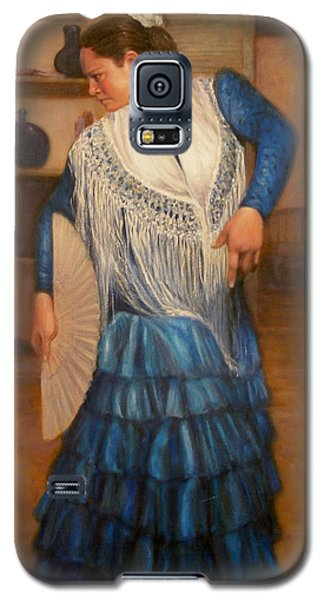 Galaxy S5 Case featuring the painting Flamenco 2 by Donelli  DiMaria