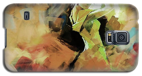 Galaxy S5 Case featuring the painting Flamenco 56y3 by Gull G