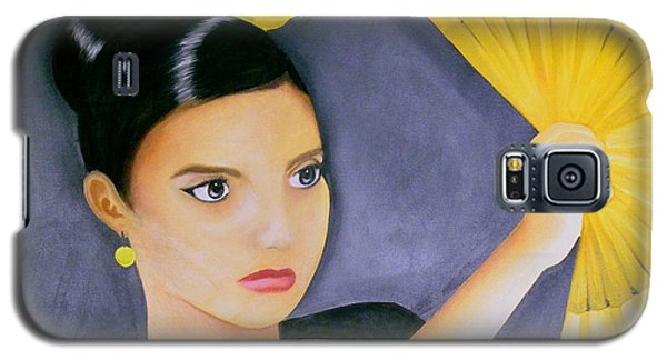 Flamenco Girl Galaxy S5 Case by Fanny Diaz