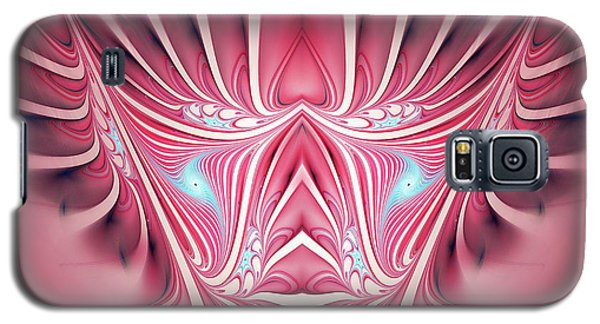 Galaxy S5 Case featuring the digital art Flames In My Heart by Jutta Maria Pusl
