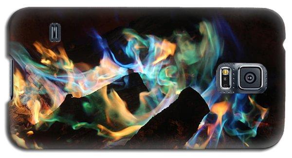 Flames Galaxy S5 Case