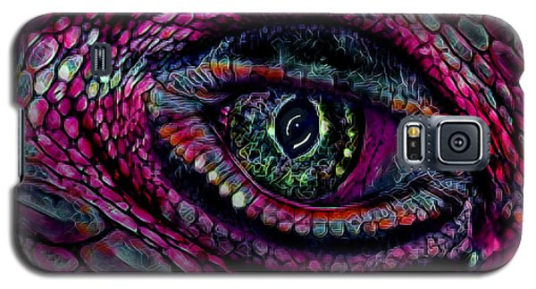 Flaming Dragons Eye Galaxy S5 Case