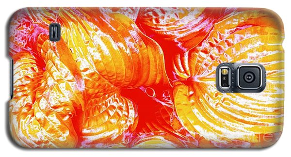 Flaming Hosta Galaxy S5 Case