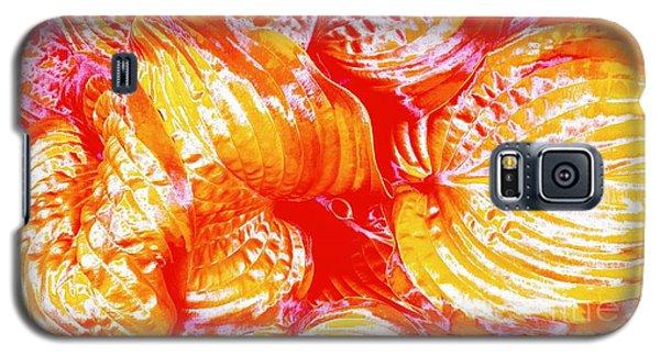 Flaming Hosta Galaxy S5 Case