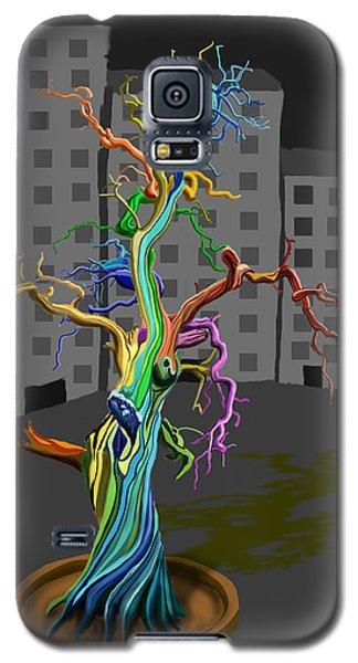 Flaming Tree Galaxy S5 Case