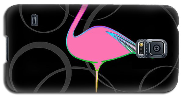 Flamingo Bubbles No 1 Galaxy S5 Case