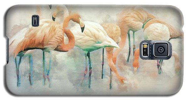 Flamingo Fantasy Galaxy S5 Case by Brian Tarr