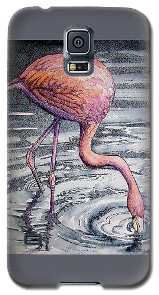 Flamingo Fishing  II Galaxy S5 Case