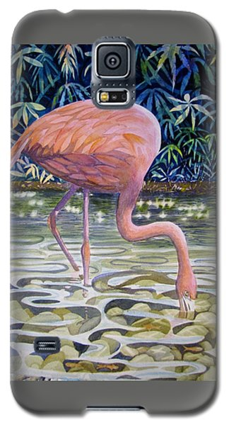 Flamingo Fishing Galaxy S5 Case