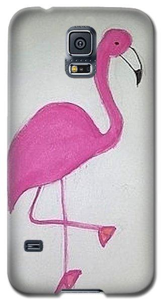 Flamingo Pink Galaxy S5 Case