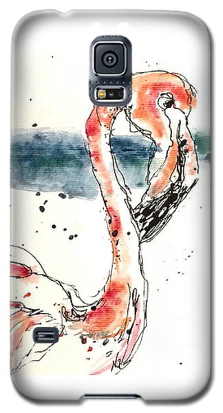 Flamingo Pool Galaxy S5 Case