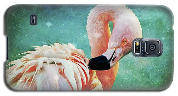 Flamingo Portrait Galaxy S5 Case