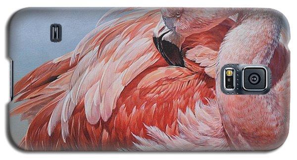 Flamingo Preening Galaxy S5 Case
