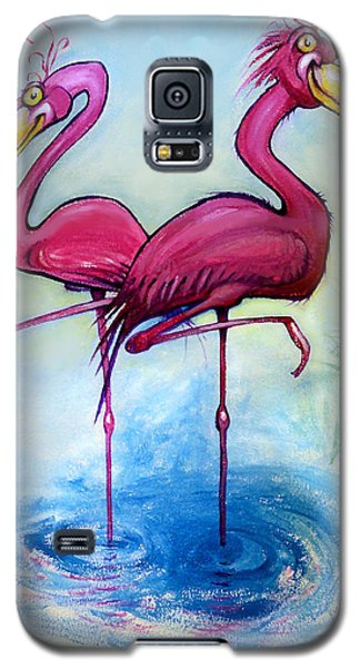 Flamingos Galaxy S5 Case
