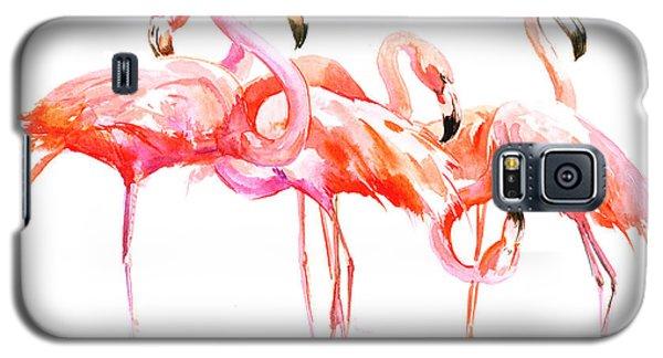 Flamingos Galaxy S5 Case