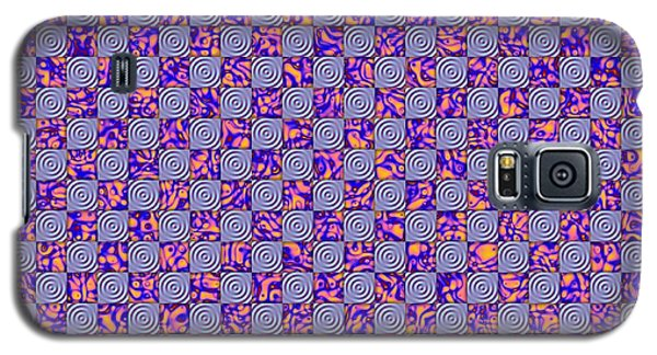 Flares, Squares And Ripples 4 Galaxy S5 Case