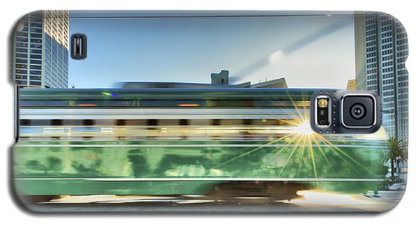 Galaxy S5 Case featuring the photograph Flash Muni by Steve Siri