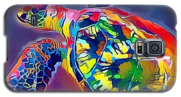 Flash The Turtle Galaxy S5 Case by Erika Swartzkopf