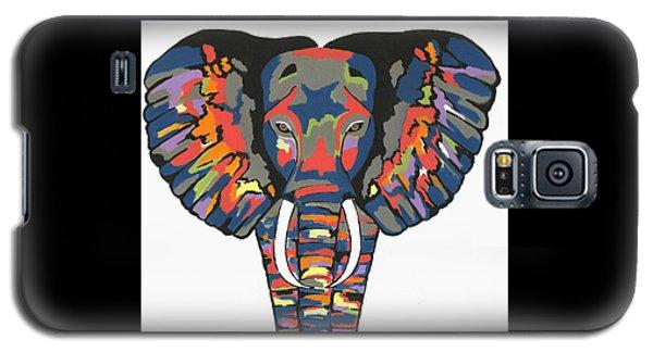 Flashy Elephant Galaxy S5 Case by Kathleen Sartoris