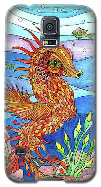 Flashy Swimmer And Fishes Galaxy S5 Case