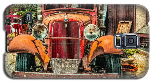 Galaxy S5 Case featuring the photograph Flat Bed Ford by Nick Zelinsky