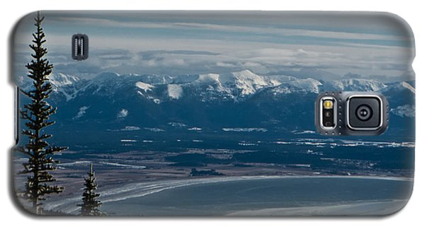 Flathead Valley In The Winter Galaxy S5 Case