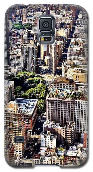 Flatiron Building From Above - New York City Galaxy S5 Case by Vivienne Gucwa