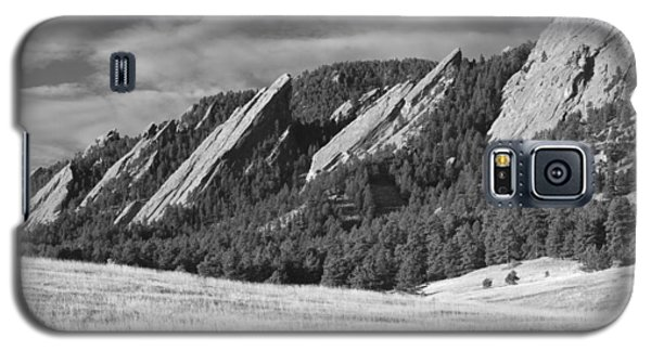 Flatiron Morning Light Boulder Colorado Bw Galaxy S5 Case