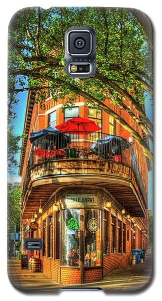 Flatiron Style Pickle Barrel Building Chattanooga Tennessee Galaxy S5 Case by Reid Callaway