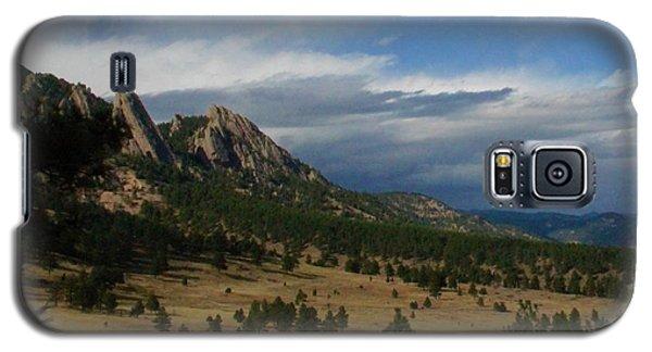 Flatirons, Boulder, Colorado Galaxy S5 Case