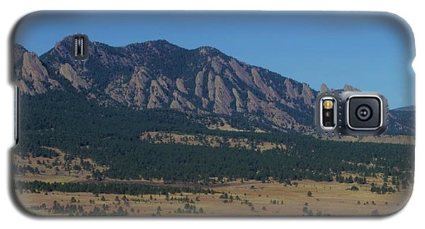Flatirons Of Boulder Galaxy S5 Case