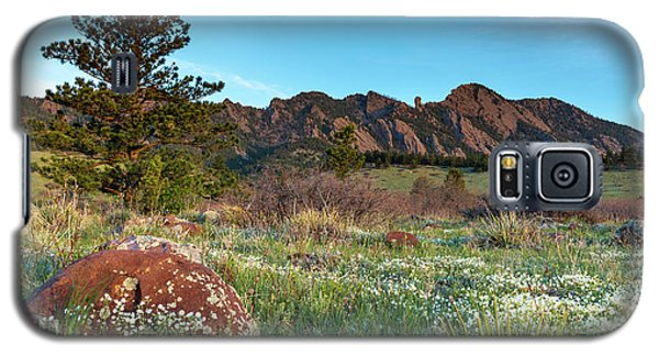 Flatirons Sunrise Galaxy S5 Case