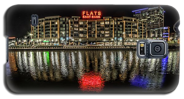 Galaxy S5 Case featuring the photograph Flats East Bank by Brent Durken