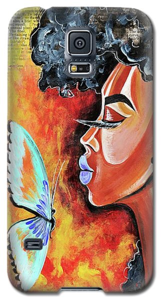Galaxy S5 Case - Flawed by Artist RiA