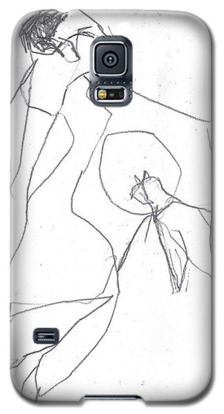 Fleeing Woman Galaxy S5 Case