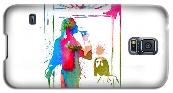 Fleetwood Mac Album Cover Watercolor Galaxy S5 Case