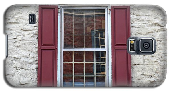 Galaxy S5 Case featuring the photograph Flemington, Nj - Side Shop Window by Frank Romeo