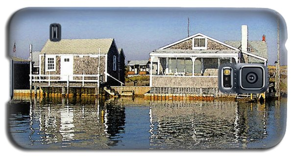 Fletchers Camp And The Little House Sandy Neck Galaxy S5 Case