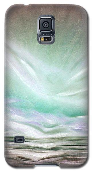Flight At Sunset - Abstract Sunset Galaxy S5 Case