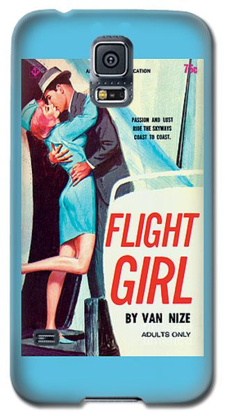 Flight Girl Galaxy S5 Case