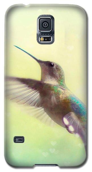 Flight Of Fancy - Square Version Galaxy S5 Case by Amy Tyler