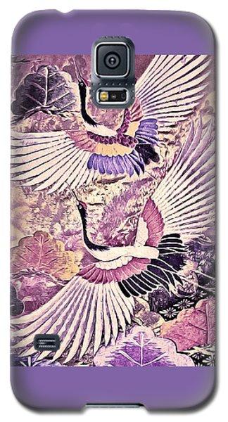 Flight Of Lovers - Kimono Series Galaxy S5 Case by Susan Maxwell Schmidt