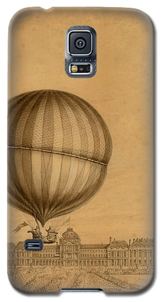 Flight Over Paris Galaxy S5 Case