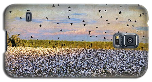 Galaxy S5 Case featuring the photograph Flight Over The Cotton by Jan Amiss Photography