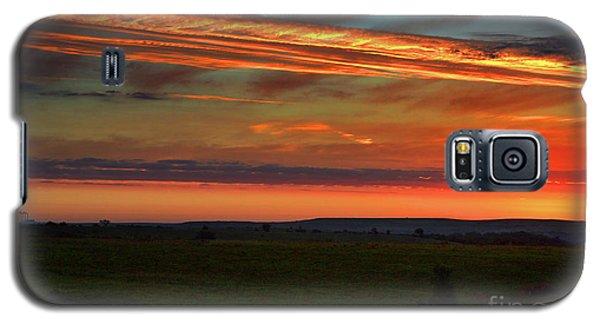 Flint Hills Sunrise Galaxy S5 Case