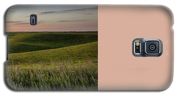 Flint Hills Sunset Pano Galaxy S5 Case