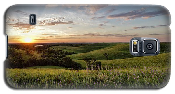 Flint Hills Sunset Galaxy S5 Case