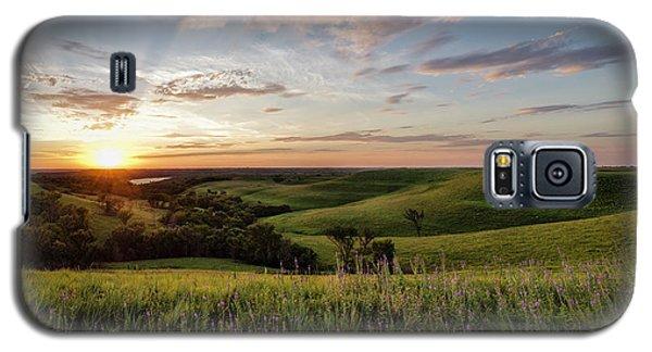 Flint Hills Sunset Galaxy S5 Case
