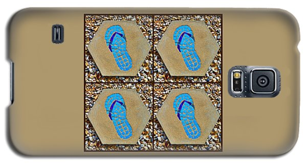 Flip Flop Square Collage Galaxy S5 Case