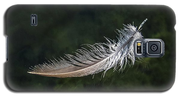 Floating Feather Galaxy S5 Case